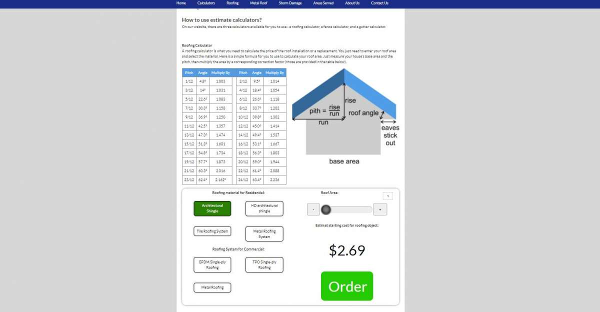 Some Tips On How To Use  Our Commercial Roof Replacement Cost Estimator