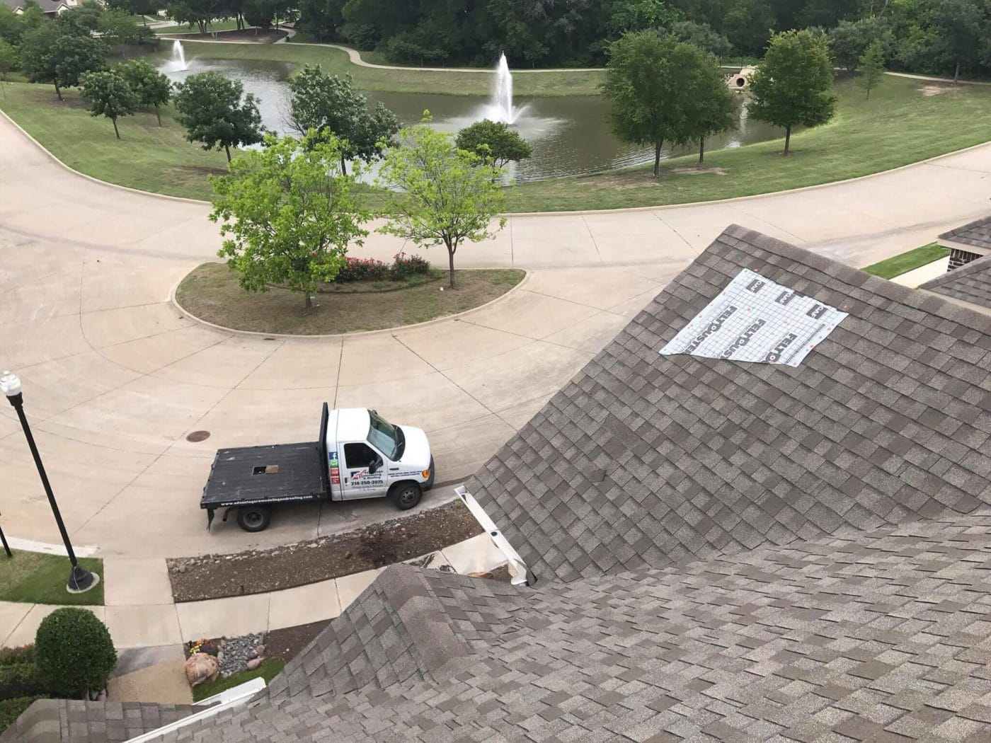 roof shingles covers for upcoming repairs